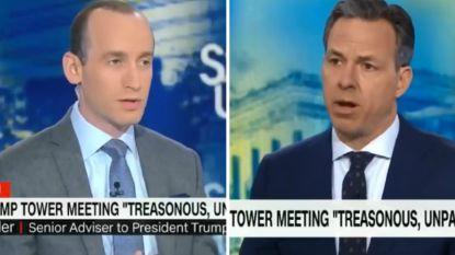 """""""Je hebt genoeg tijd van mijn kijkers verkwanseld"""": CNN-anker snoert topadviseur van Trump bruusk de mond"""