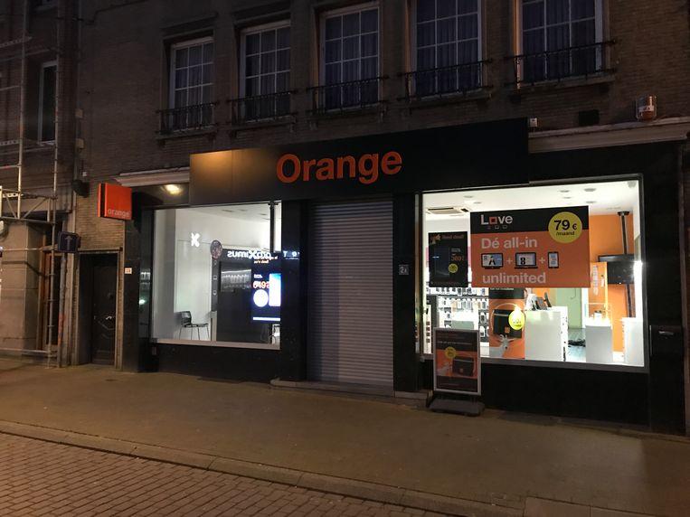 De Orange Shop.
