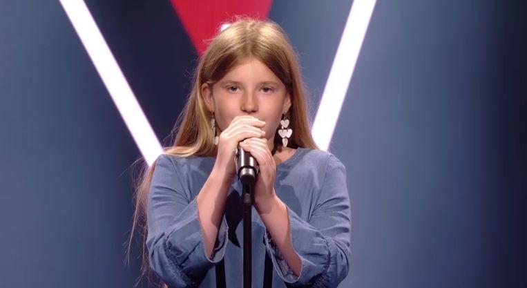 De 10-jarige Lotte waagt haar kans in 'The Voice Kids'