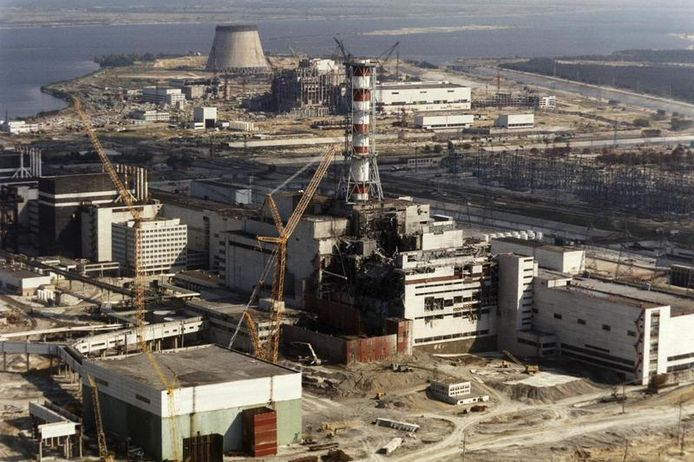 De kerncentrale van Tsjernobyl. © EPA
