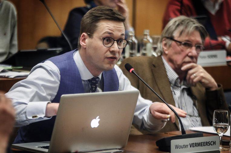 Wouter Vermeersch (Vlaams Belang) stelde de volksraadpleging maandagavond in de gemeenteraad voor.