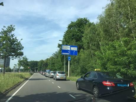 Drukte rond Eindhoven Airport