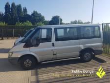 Illegale taxichauffeur in Dongen raakt busje kwijt na flinke lijst overtredingen