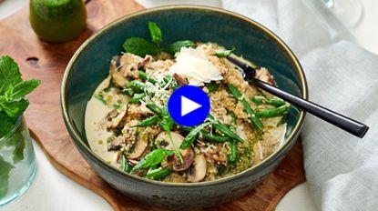 Risotto met een twist: zo maak je wel een lekkere  'quinotto' à la Charlotte en Charlot uit 'Mijn Keuken, Mijn Restaurant'