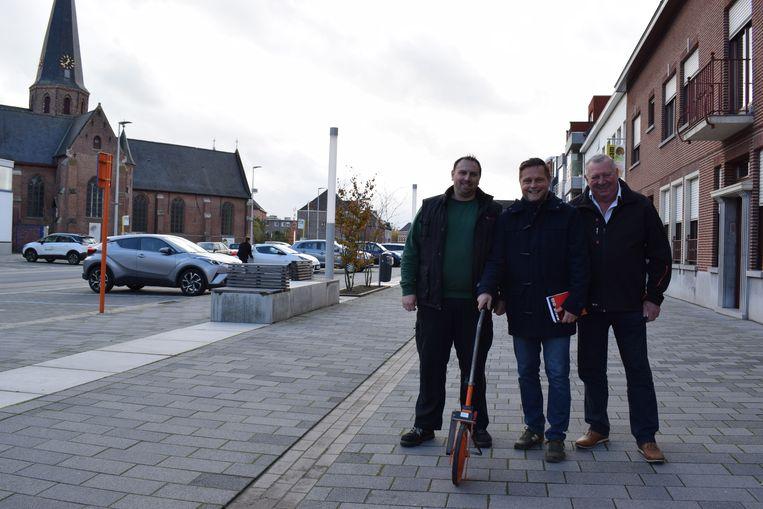 Eddy Heirwegh (links) en zijn ploeg willen het volk zaterdag opnieuw naar het centrum lokken.