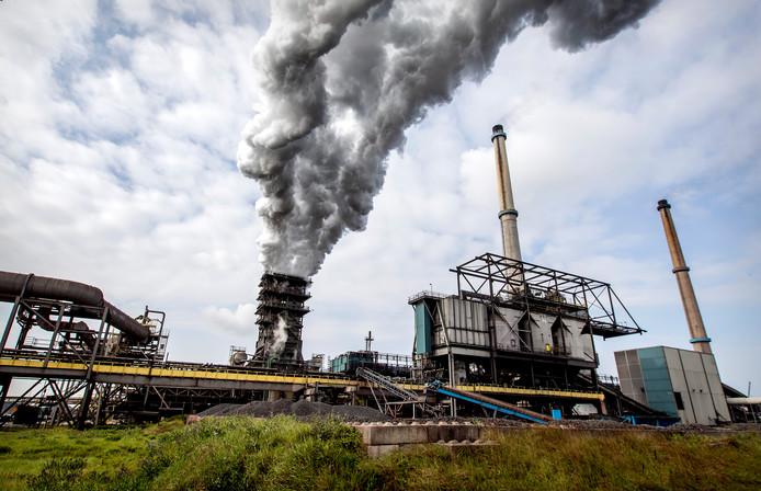 Het terrein van staalproducent Tata Steel in IJmuiden.