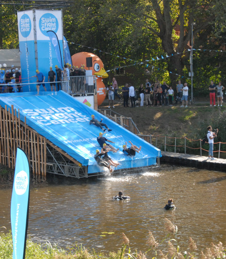 Swim to Fight Cancer levert recordbedrag van 525.000 euro op in Den Bosch