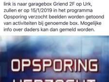 Mogelijk verband Urker garagebox en uitgebrande truck met drugsafval in Eindhoven