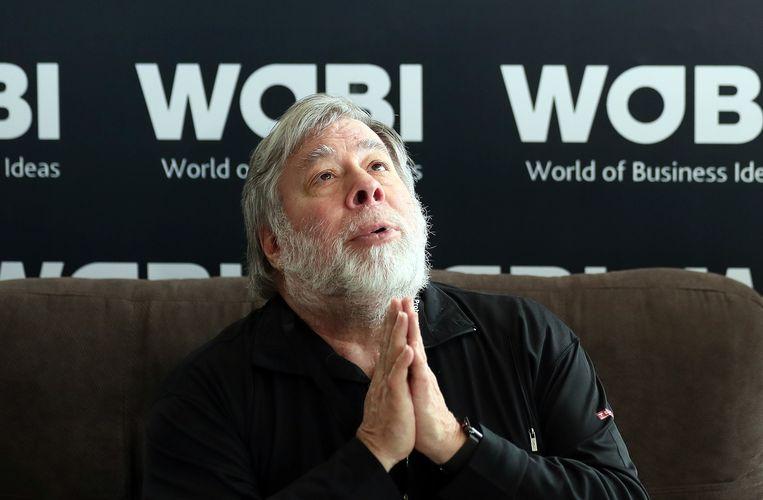 Steve Wozniak, een van de oprichters van Apple.