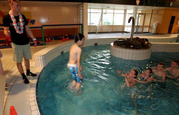Zwembad Den Ekkerman in Veldhoven.