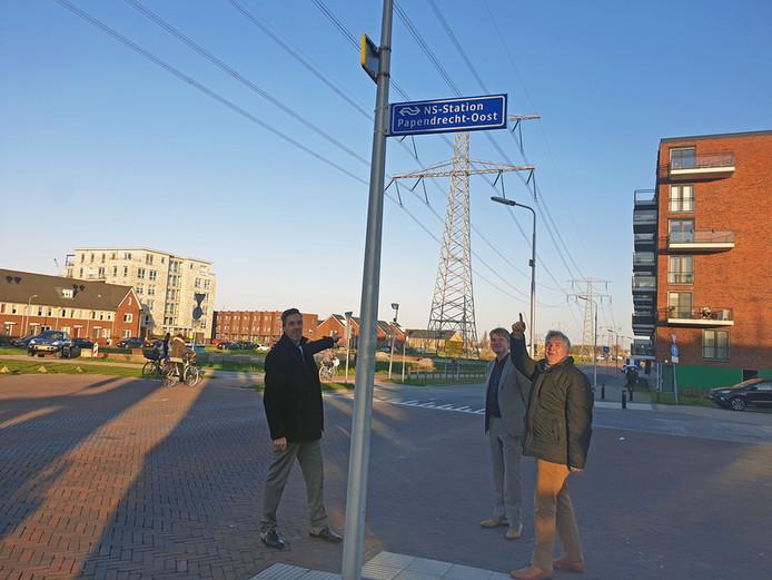 Een nieuwe naam voor het station op de grens van de gemeenten Sliedrecht en Papendrecht.