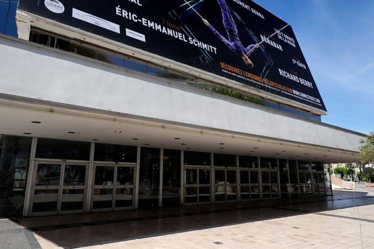 Het gebouw waar het festival plaatsvindt is gesloten. Beeld EPA