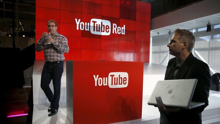 YouTube onthult de nieuwe betaalservice Red in YouTube Space LA in Playa Del Rey, Los Angeles. Beeld reuters