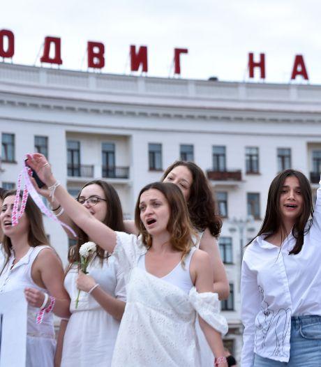 Protesten Wit-Rusland houden aan, ondanks arrestaties