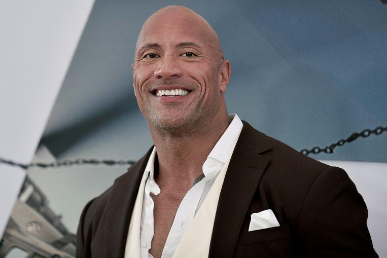 Dwayne Johnson mag zich voor het tweede jaar op rij tot best betaalde mannelijke acteur kronen.