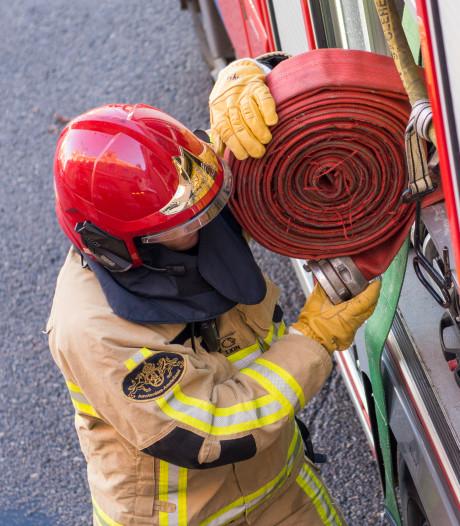 Brandweer rukt uit voor brand bij Scheepvaartmuseum Sneek