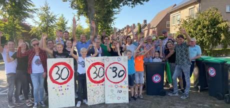 Protestactie Odiliapeel tegen hardrijders: 'Er rijden hier een hoop Max Verstappens'