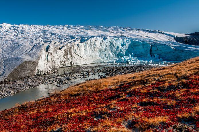 De Russellgletsjer in Groenland