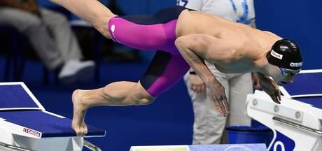 Schwietert strandt met 31ste tijd in series 100 meter vrij