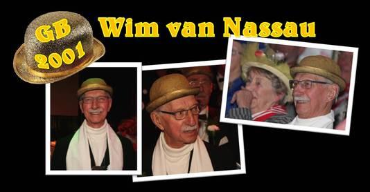 Wim van Nassau ontving in 2001 van zijn 'eigen' IQ Aarmoei-nieke de Gouden Bolhoed.