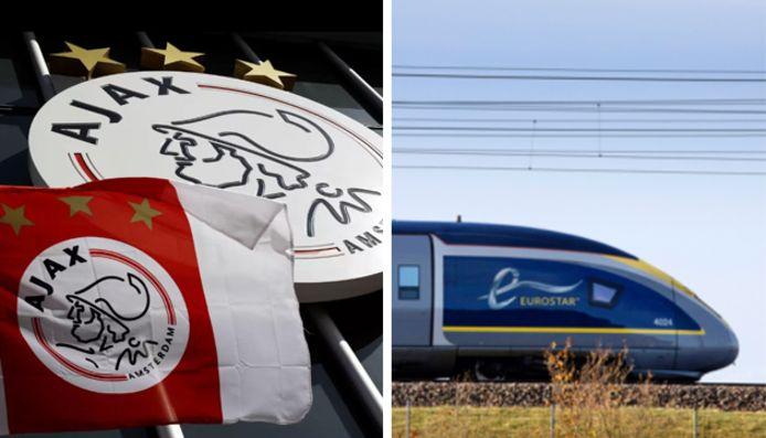 L'Ajax se déplacera en train pour se rendre à Lille