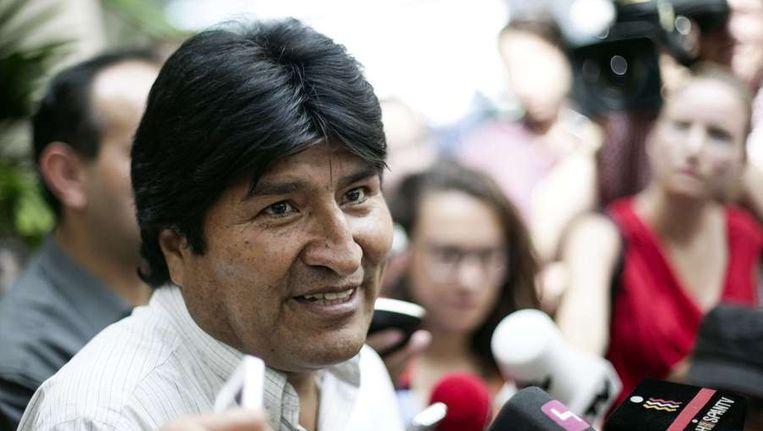 Evo Morales Beeld ANP