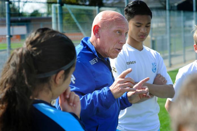 Piet de Rijke, de nieuwe hoofd jeugd opleiding van JVOZ.
