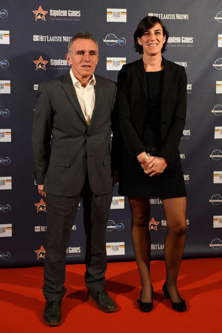 Danny De Bie met partner.