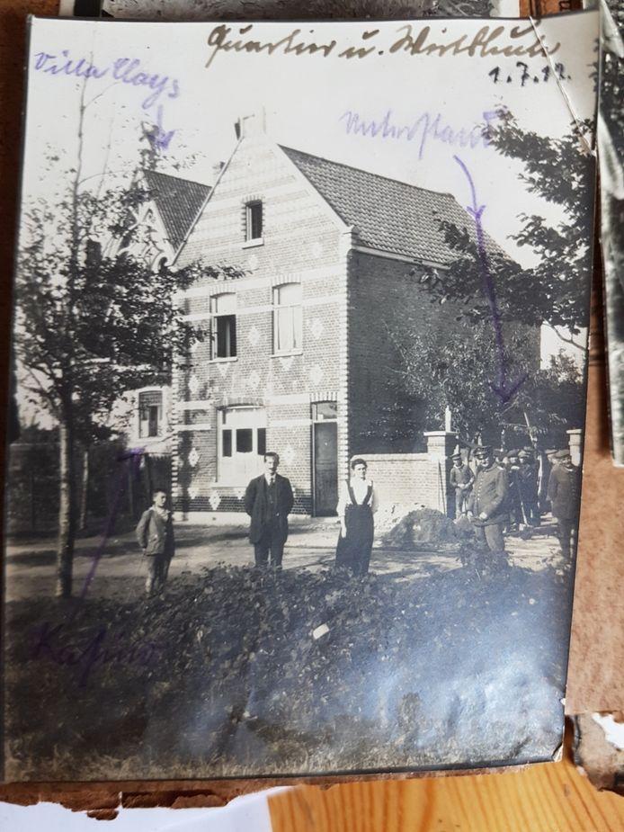 Zo ziet het huis er in het fotoalbum uit.