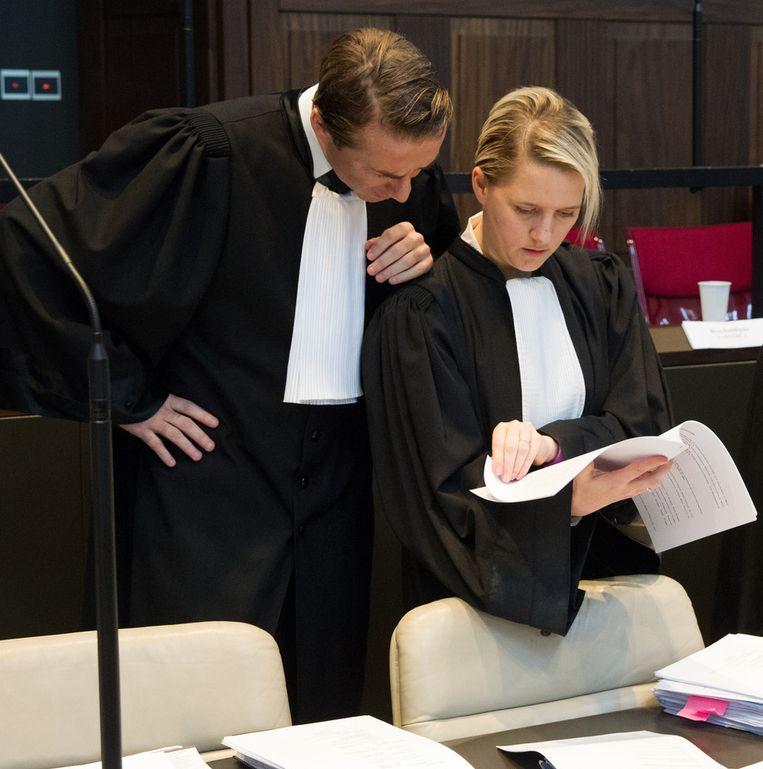 Advocaten Thomas Gillis en Nina Van Eeckhaut.