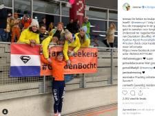 Schaatssters bewijzen Van Deutekom laatste eer met actie tegen longkanker