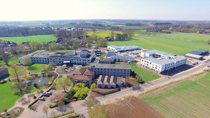 Het ziekenhuis in Vreden in mei 2020.