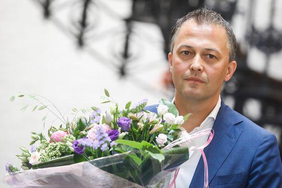 Egbert Lachaert, de nieuwe voorzitter van Open Vld.