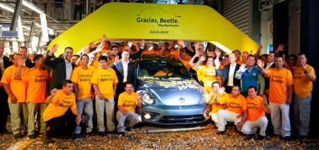 In beeld: de allerlaatste Volkswagen Kever is van de band gerold