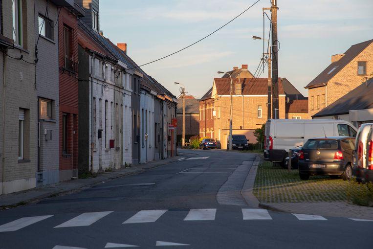 De Serskampsteenweg richting Serskampstraat krijgt voet en fietspaden.