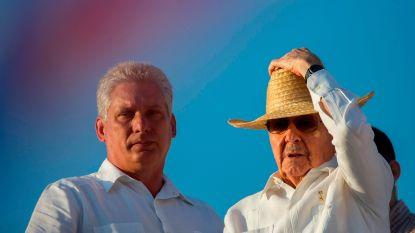 Vandaag komt voor het eerst in zes decennia een president die niet de naam Castro draagt aan de macht in Cuba