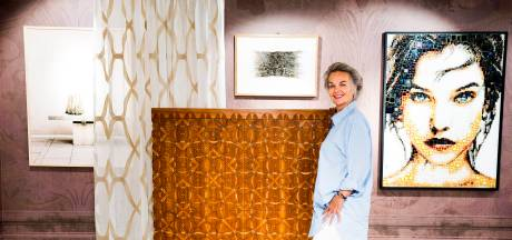 Ria weet grote namen te binden aan haar kunststudio: van Steve Te Pas tot Mart Visser