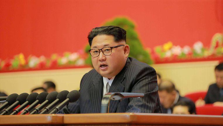 Kim Jong-un Beeld reuters