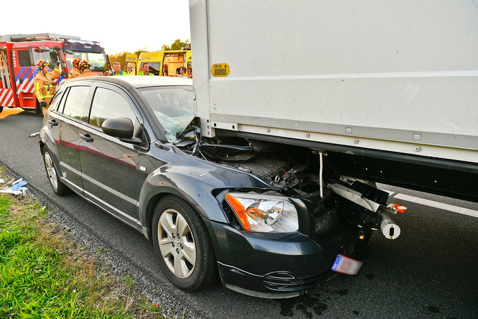 Ernstig ongeluk op A67
