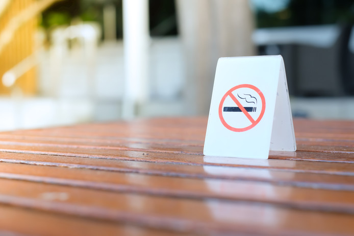 De meeste rookvrije terrassen zijn te vinden in de Randstad. Brabant loopt achter.