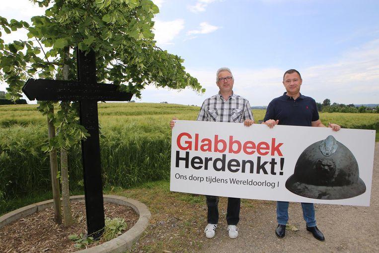Ronny Laermans en peter Reekmans stellen het project voor.