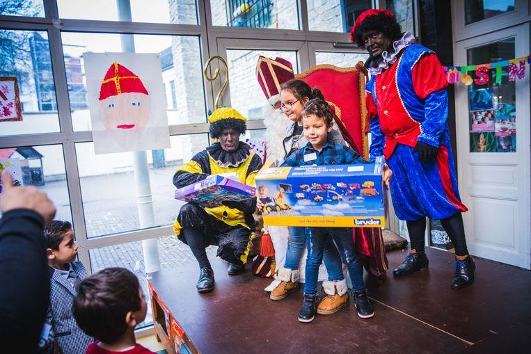 Sinterklaas op bezoek in de Muze