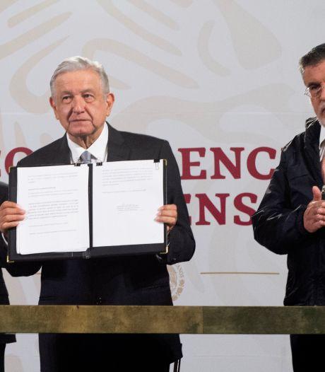 President Mexico wil referendum over aanklacht vijf voorgangers