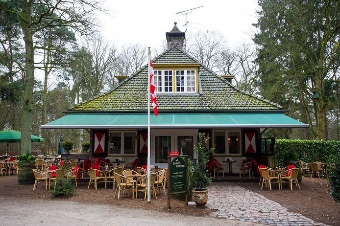 Boshuis Venkraai aan de Bosweg is heden ten dage een populair café.