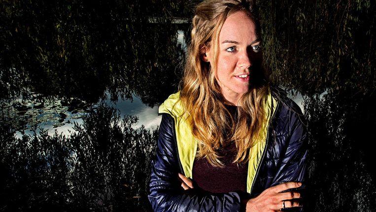 Anna van der Breggen. Beeld Klaas Jan van der Weij / de Volkskrant