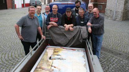 Unieke tegeltableaus verhuizen naar Poldermuseum