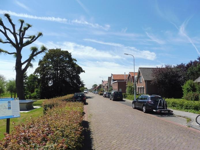 De Cadzandseweg in Nieuwvliet.