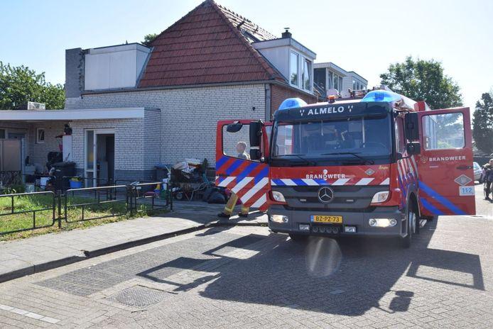 De brandweer had de brand vlot onder controle.