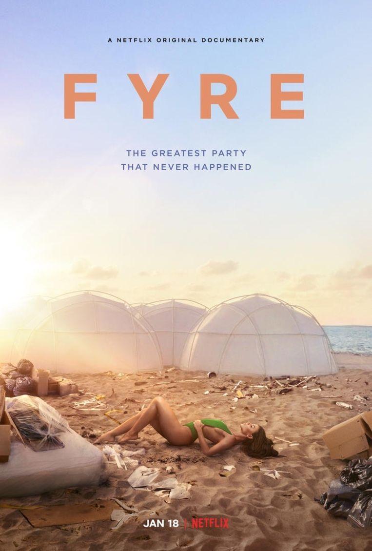Fyrefestival poster Beeld -