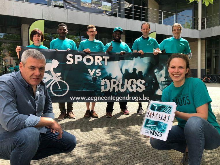 De vereniging 'Zeg NEEN Tegen Drugs' houdt vandaag halt in Steenokkerzeel, Zemst en Vilvoorde.